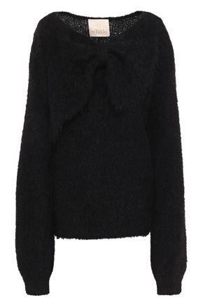 byTIMO Bow-embellished alpaca-blend sweater