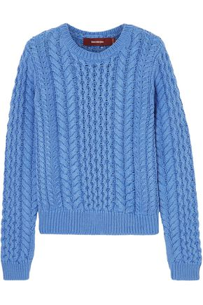 SIES MARJAN Britta cable-knit cotton sweater