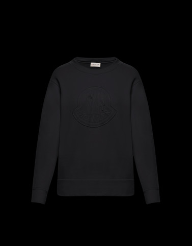 SWEATSHIRT Black Knitwear Woman