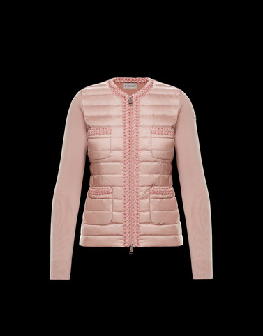 Lined jumper Pink Category Lined jumpers Woman