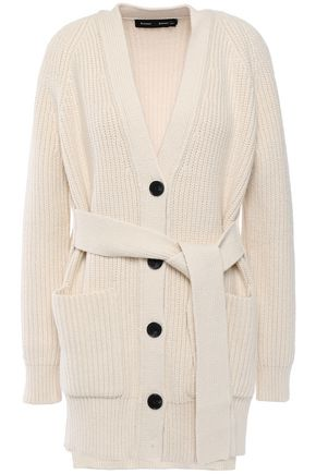 PROENZA SCHOULER Ribbed cotton-blend cardigan