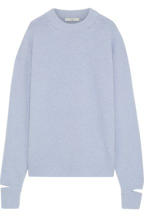 TIBI Cutout alpaca-blend sweater