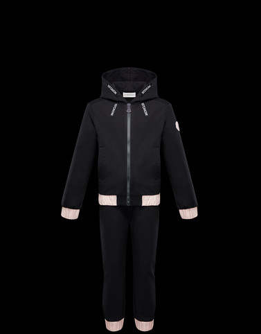 ALL IN ONE Black Junior 8-10 Years - Girl