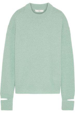 TIBI Airy cutout alpaca-blend sweater