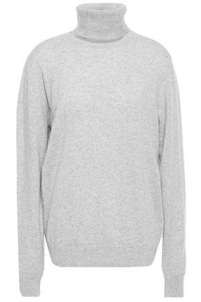 CHALAYAN Cutout mélange cashmere turtleneck sweater