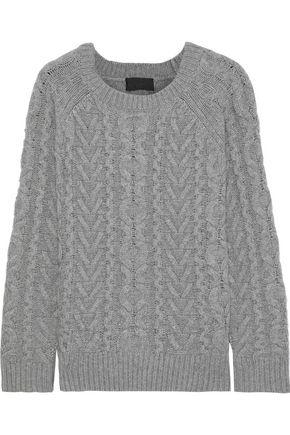 NILI LOTAN Cable-knit cashmere sweater