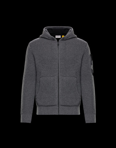 CARDIGAN Grey 5 Moncler Craig Green