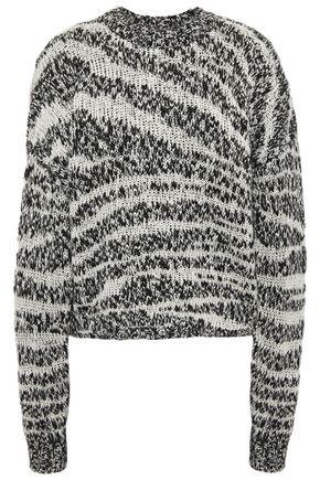 CURRENT/ELLIOTT Intarsia-knit sweater