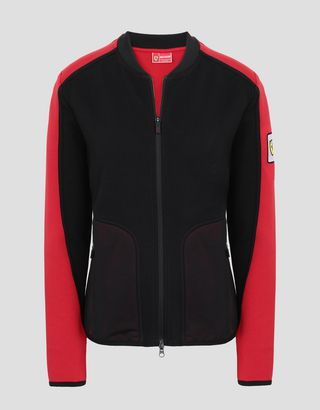 Scuderia Ferrari Online Store - Women's Infinity sweatshirt with 3D inserts - Zip Jumpers