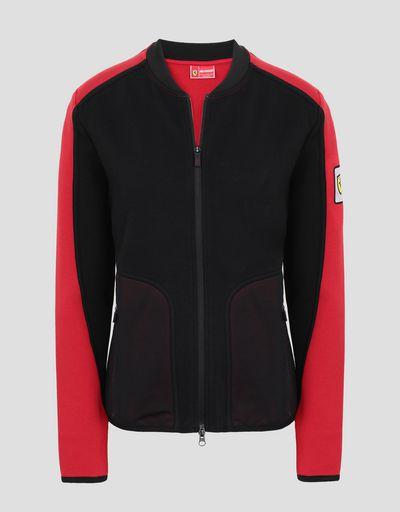 Scuderia Ferrari Online Store - Women's Infinity sweatshirt with 3D inserts - Zip Sweaters