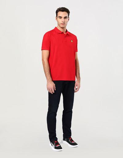 メンズ 機能性コットン ポロシャツ エルゴノミックカット