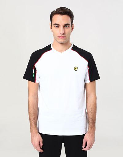 Scuderia Ferrari Online Store - メンズ VネックTシャツ - 半袖Tシャツ