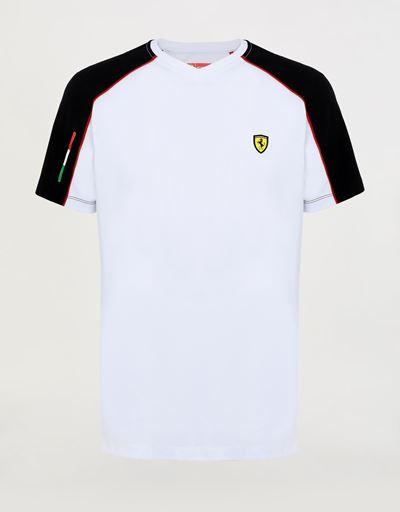 T-Shirt für Herren mit V-Ausschnitt