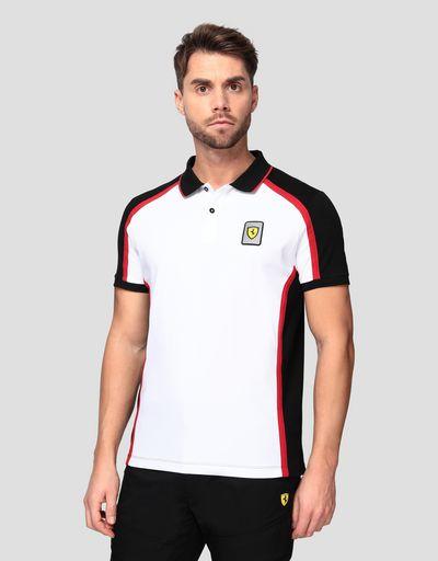 Men's Infinity polo shirt in cotton piquet