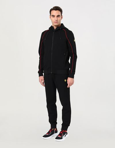 Men's hooded sweatshirt with Fit System