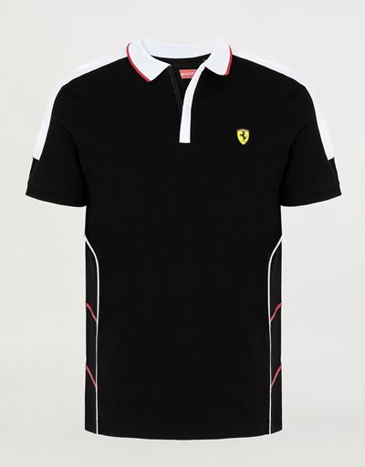 Men's Air Intake polo shirt in cotton pique