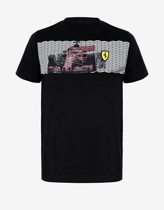 Scuderia Ferrari Online Store - Boys' mini-me T-shirt with car print - Short Sleeve T-Shirts