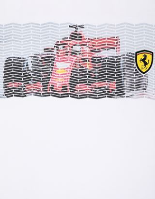 Scuderia Ferrari Online Store - Boys' T-shirt with mini-me vehicle print - Short Sleeve T-Shirts