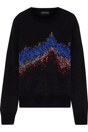 RAG & BONE Verity Sonar jacquard-knit sweater