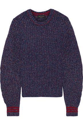 RAG & BONE Cheryl marled ribbed merino wool-blend sweater