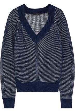 RAG & BONE リネン混オープンニット セーター