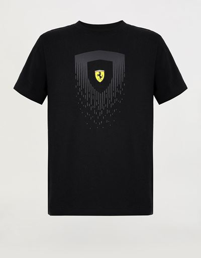 Children's T-shirt with mini-me Shield print