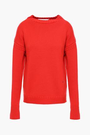 VICTORIA BECKHAM Guernsey merino wool sweater