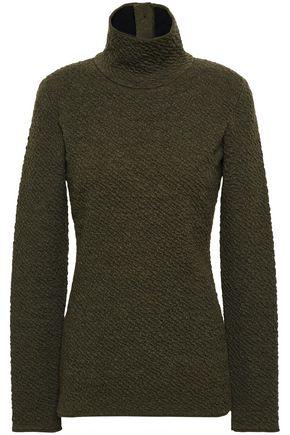 VICTORIA BECKHAM Wool-cloqué sweater