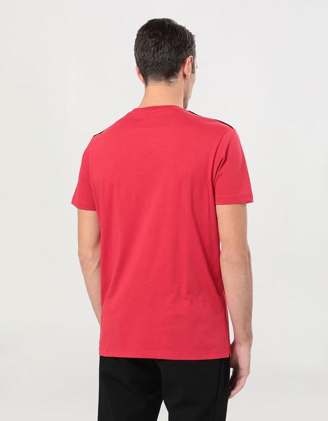 Scuderia Ferrari Online Store - T-shirt homme Racing avec imprimé effet carbone - T-shirts à manches courtes