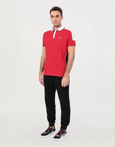 Poloshirt für Herren aus Baumwollpikee mit Air-Intakes