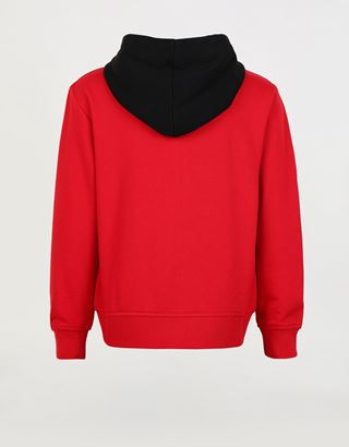 Scuderia Ferrari Online Store - Sweat-shirt à capuche en French Terry pour fille et garçon - Zip Jumper