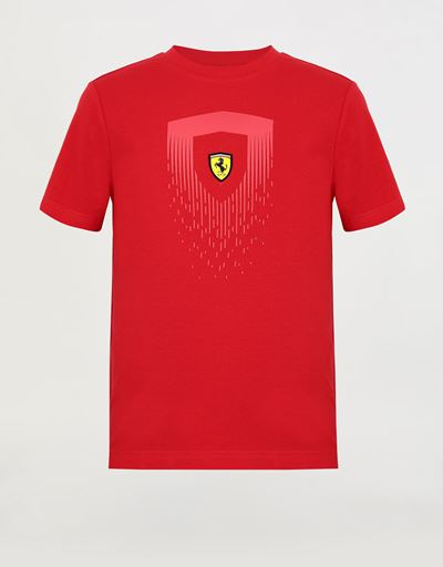 Boys' T-shirt with mini-me Scudetto print