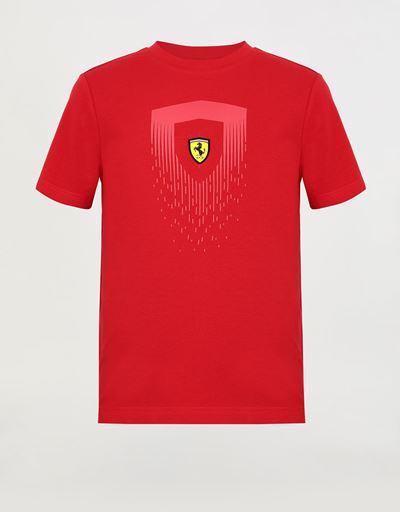 Boys' T-shirt with mini-me Scudetto print