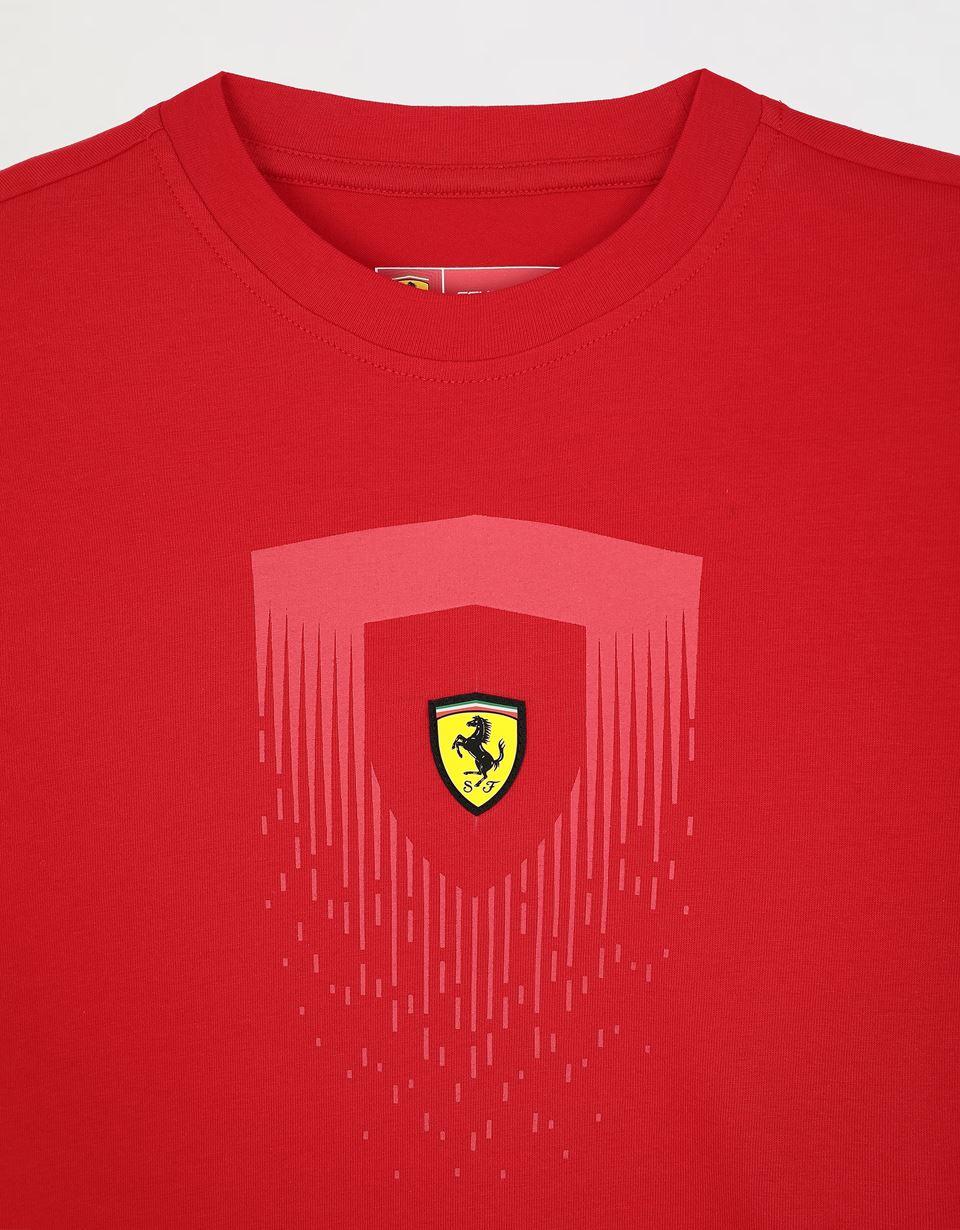 Ferrari Kids Small Scudetto Red Polo