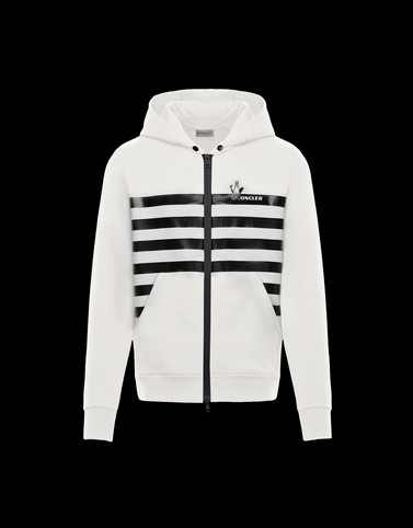 CARDIGAN Ivory Category ZIP-UP SWEATSHIRTS Man