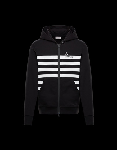CARDIGAN Black Category ZIP-UP SWEATSHIRTS Man