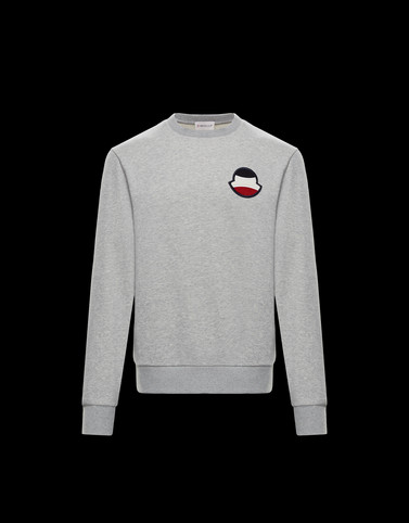 SWEATSHIRT Light grey New in Man