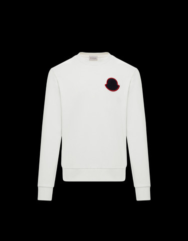 SWEATSHIRT White Category Sweatshirts Man