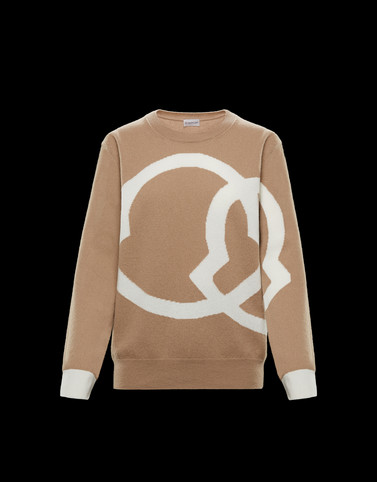 CREWNECK Khaki Category Crewnecks Woman