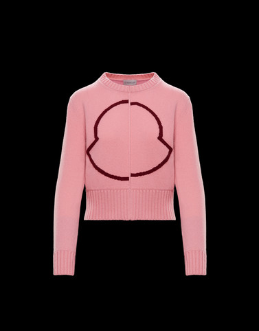 CREWNECK Pink Category Crewnecks Woman