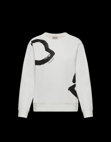 SWEATSHIRT White Knitwear Woman