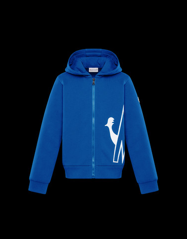 SWEATSHIRT Blue Junior 8-10 Years - Boy Woman