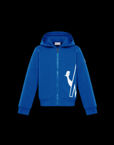 SWEATSHIRT Blue Kids 4-6 Years - Girl Woman