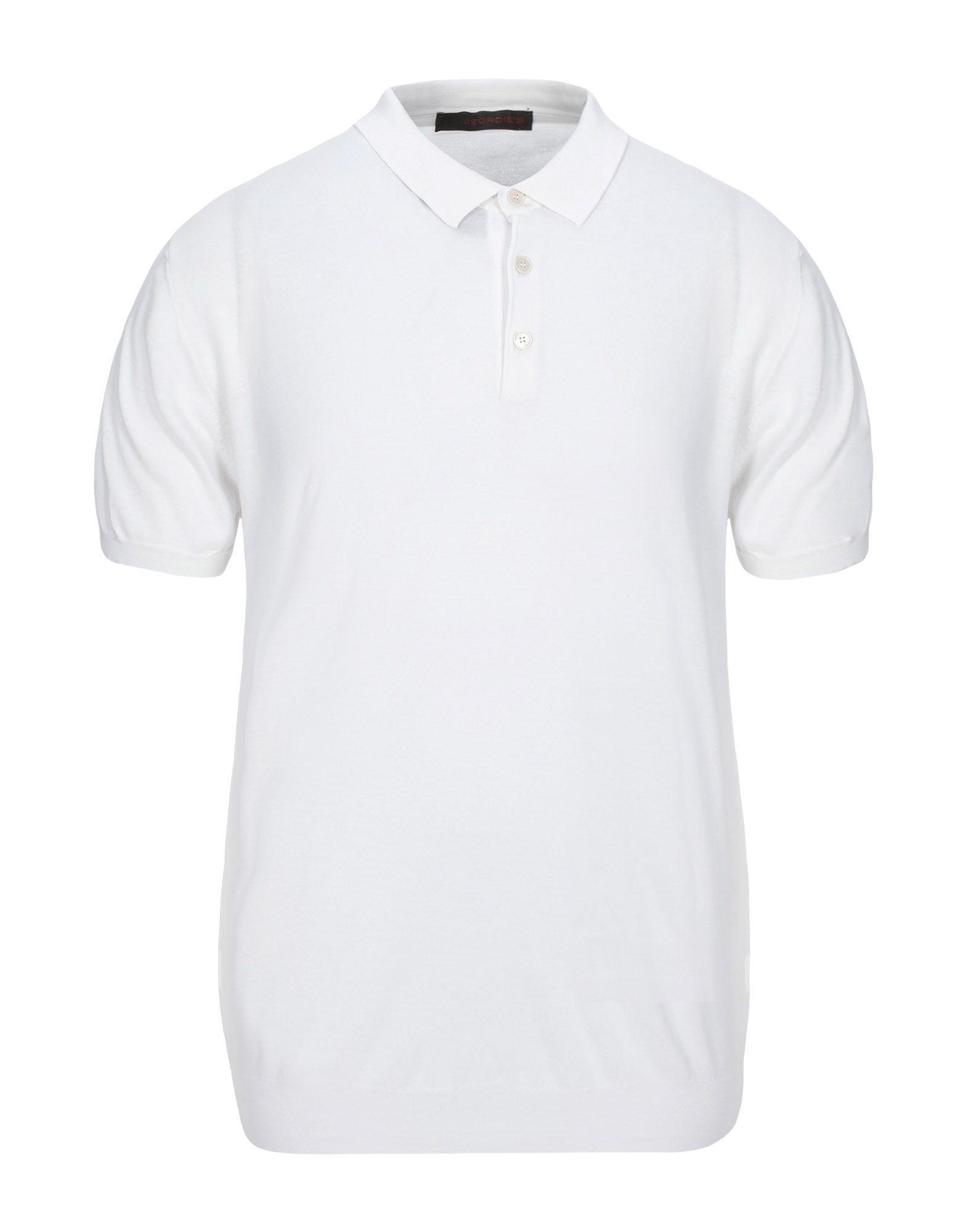 《セール開催中》JEORDIE'S メンズ プルオーバー ホワイト M コットン 100%