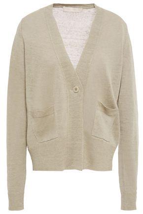 VANESSA BRUNO Linen-blend cardigan