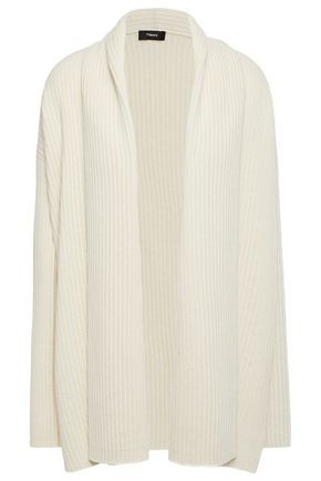 THEORY Ribbed cashmere cardigan