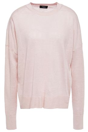 THEORY Karenia linen-blend sweater