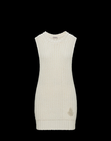 VEST White Category Sweater vests Woman