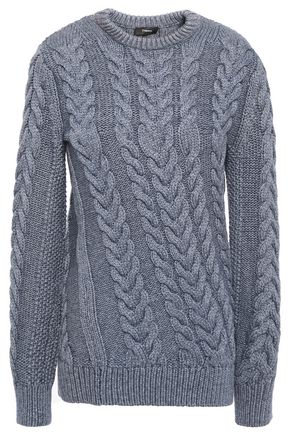 THEORY Cable-knit sweater