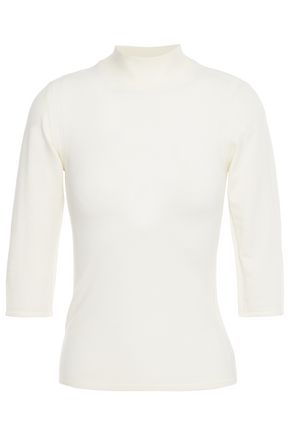 THEORY Merino wool-blend turtleneck top